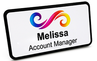 Name Badges & Name Tags from NameBadge com - Custom Magnetic